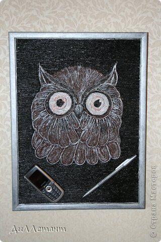 Картина панно рисунок Мой Пейп-Арт или Гимн Татьяне Сорокиной Салфетки фото 1