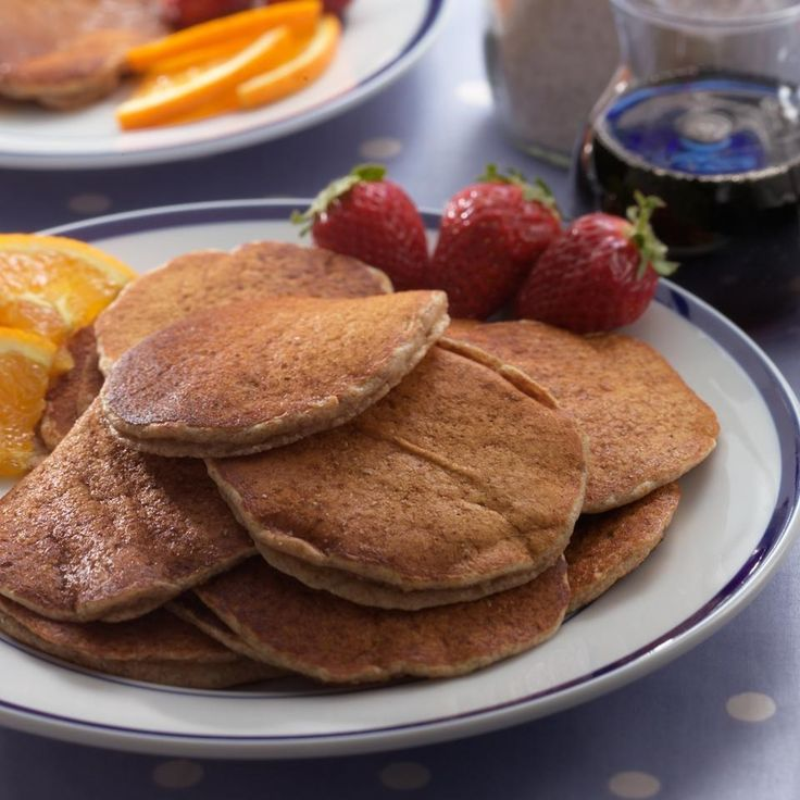 With this whole-grain mix on hand, you can enjoy homemade pancakes on busy weekday mornings. This is also a great item to pack on camping trips. Be sure to refrigerate or freeze the mix as flaxseed meal is highly perishable.