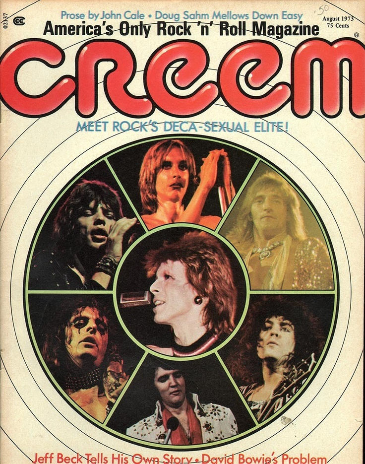 Image result for creem magazine 1973