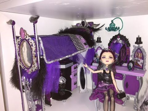 Hi guys, lots of you asked me to remake the bed for our Ever After High Raven Queen doll. I guess you disliked it as much as I did, haha! I decided to raise ...