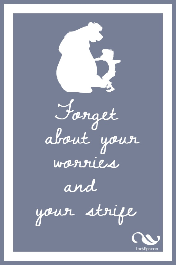 the jungle book Printable disney quotes  www.ladybph.com