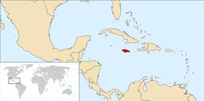Jamaica Location | Jamaica Location East of Haiti