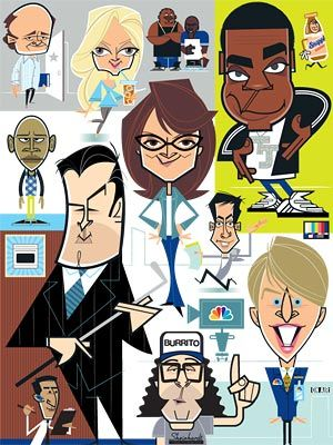 lol, 30 Rock as a cartoon. Hilarious! But I don't think Jenna will be very happy that she isn't in the center of the poster :D