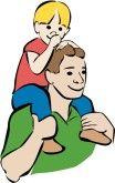 Los personajes principales de El Hijo son el padre y el hijo.