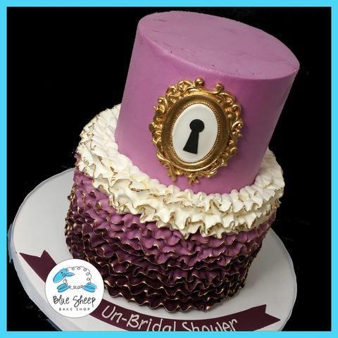 alice in wonderland bridal shower cakes nj