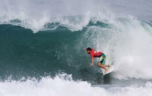 surfe Alejo Muniz no Rio Pro (Foto: AP)