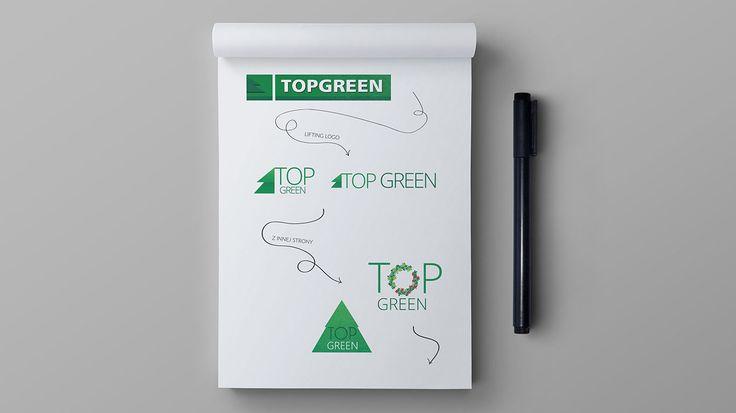 topgreen projektowanie logo