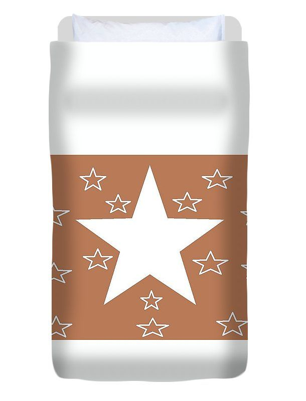 Duvet Covers (Twin Size) of 'Texas Stars Forever' by Sumi e Master Linda Velasquez.
