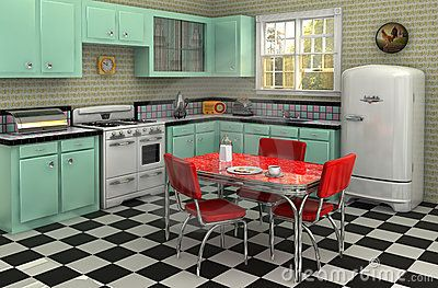 1950's Kitchen-everything but the floor