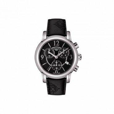 T0502171705700 Γυναικείο ελβετικό ρολόι TISSOT DRESSPORT με χρονογράφο, μαύρο καντράν και μαύρο δέρμα | Ρολόγια TISSOT ΤΣΑΛΔΑΡΗΣ στο Χαλάνδρι