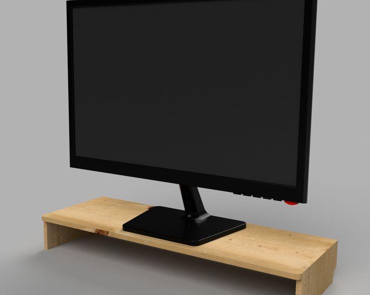 DIY tuto Support pour écran de PC fixe