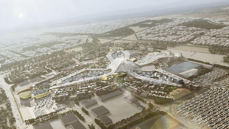 Gallery of Dubai Wins World Expo 2020 Bid with HOK-Designed Master Plan - 2