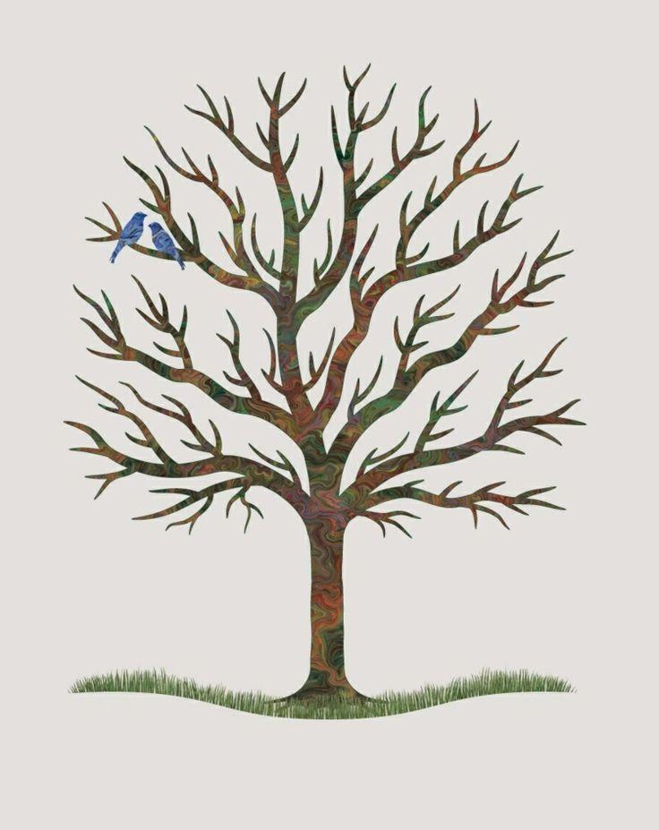 Die besten 25+ Baum vorlage Ideen auf Pinterest