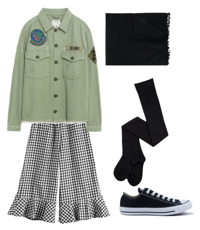 """Turban Style"" by idilkovalii on Polyvore featuring Converse and Rick Owens"