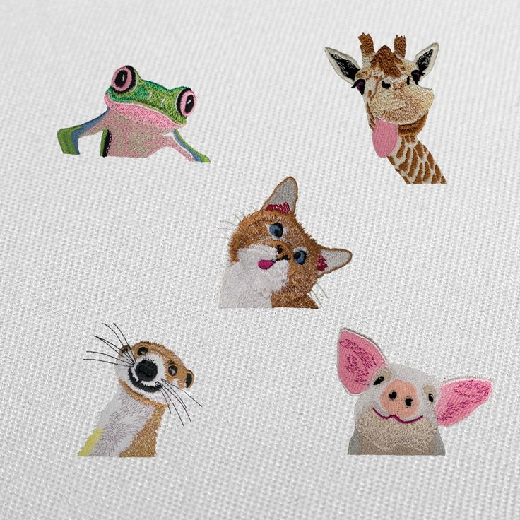 Download unique and and fun machine embroidery designs instantly from artist Howard Robinson today on Stitch Gallery One.