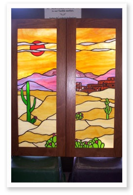 stained glass art Southgate, MI - Custom Stained Glass - photo gallery image