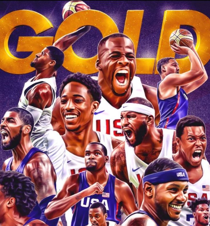 Awesome USA Olympic Basketball Team!! GOLDEN!!