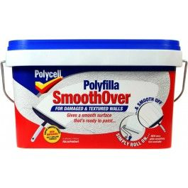Polycell SmoothOver for Damaged and Textured Walls http://www.thedecoratingcentre.co.uk/polycell-smoothover-for-damaged-and-textured-walls.html
