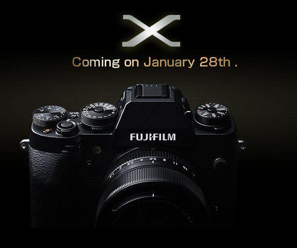 28. januarja bo predstavljen nov sistemski fotoaparat Fujifilm X-T1 na voljo tudi v kompletu z 18-55mm in 18-135mm objektivom. Cene za Fujifilm X-T1 naj bi se gibale od 1200€  do 1800€ za kit z 18-135mm objektivom.  Fuji will announce the new X-mount X-T1 camera on January 28 with price range from €1200 up to €1800 for 18-135mm kit.