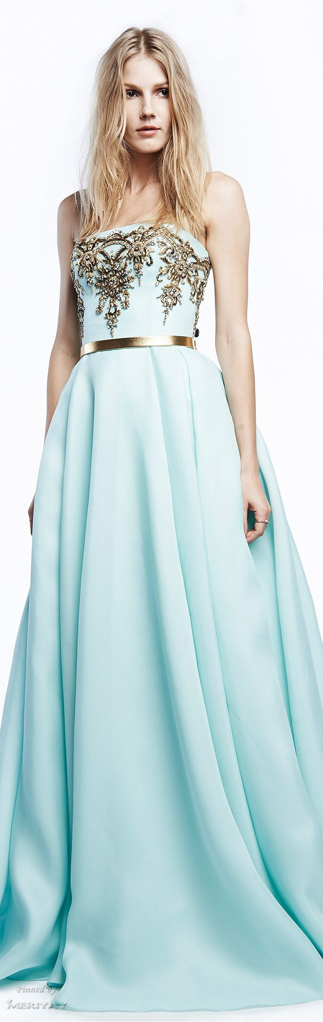 Reem Acra Resort 2015. AKA the prettiest dress I have ever seen in my life!!!!!!!!!!!!!!!!!
