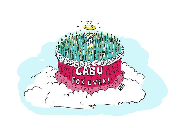 CABU : HAPPY BIRTHDAY YOUNG MAN !