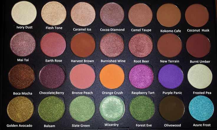 Beautiful Coastal Scents palette! Need these hot pots