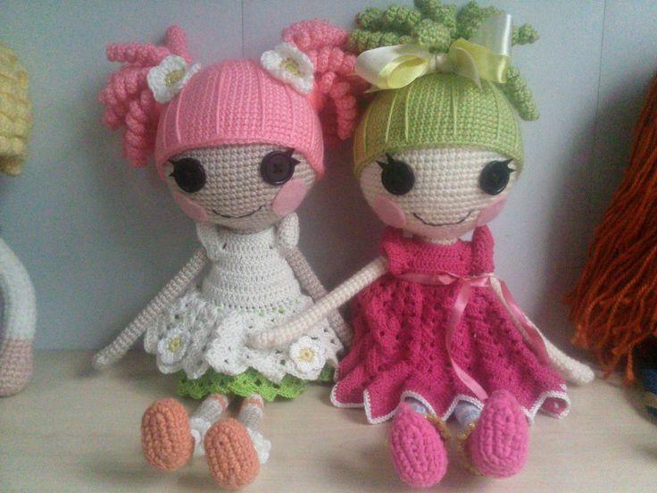 Amigurumi Doll Lalaloopsy Pattern : Best lalaloopsy dolls images lalaloopsy