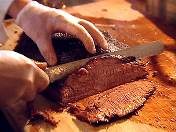 Millionaire Brisket with Coffee and Beer Mop Sauce Recipe : Food Network