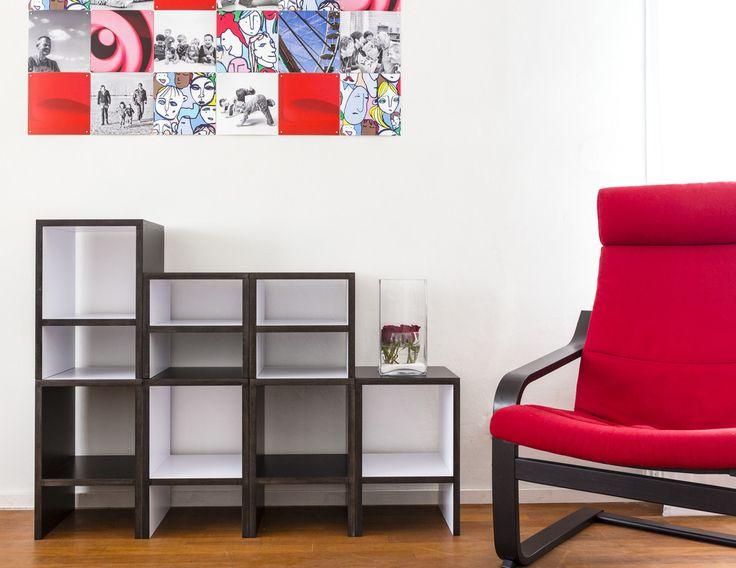 Meer dan 1000 idee n over kast ontwerpen op pinterest hoofdkast wandel kast en slaapkamer kasten - Modulaire kamer ...