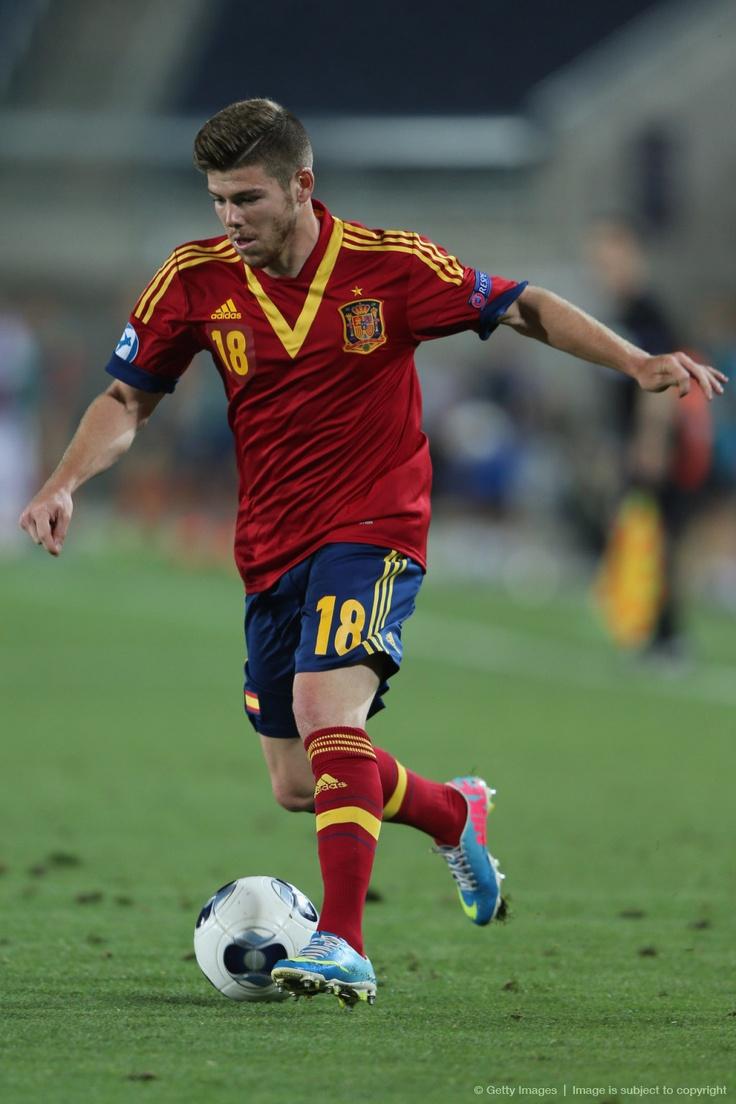 #Alberto Moreno# #La Rojita# 2013-06-06 Spain v Russia - UEFA European U21 Championships: Group B