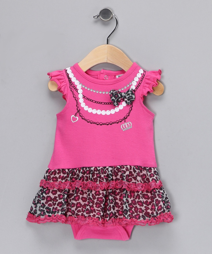 adorable!!: Mom Baby, Babies, Baby Essentials, Pink Leopard, Daily Deals, Leopard Skirted, Skirted Bodysuit, Kid, Baby Stuff