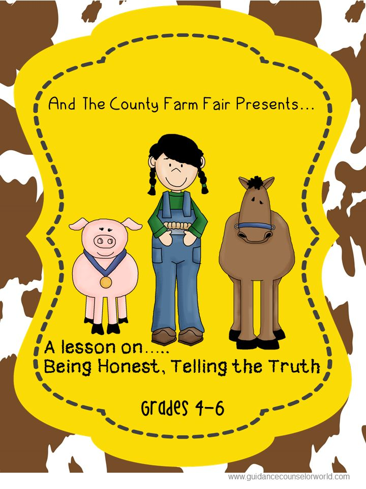 Guidance lesson on Being Honest, for Grades 4-6.Teach students to be honest, not matter the consequence. NEVER create another guidance lesson again with our aligned K-6 guidance lessons! We've got more GUIDANCE LESSON Plans, all which are aligned for grades K-6! Each lesson plan has a Word doc for each grade level and a PDF that includes all interactive activities and printables. Honesty | Elementary Guidance Lessons