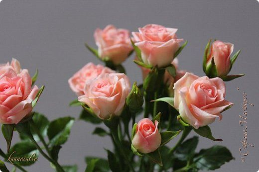 Роза кустовая (повтор+мини МК)
