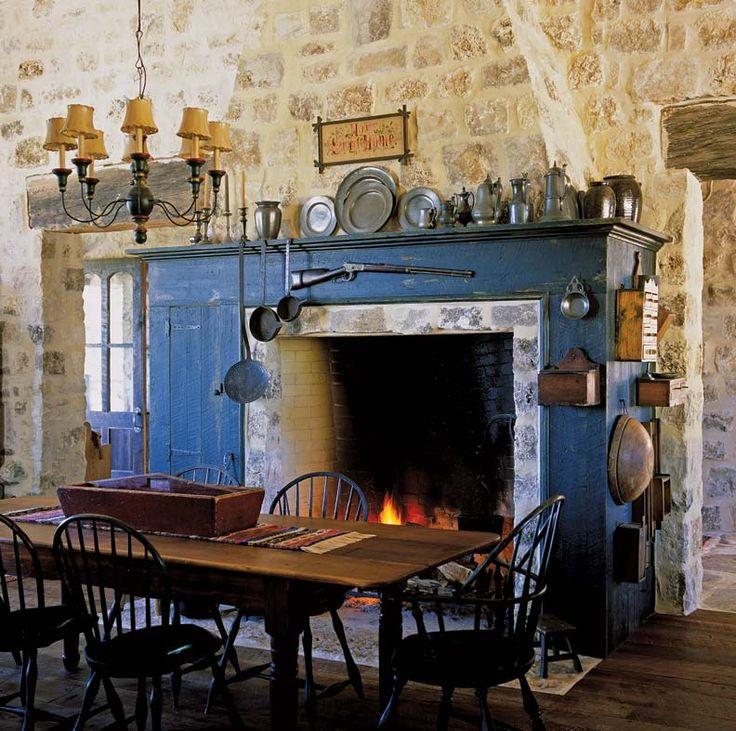 Amundsen Kitchen Hearth Room: 17 Best Images About PRIMITIVE FIREPLACES On Pinterest