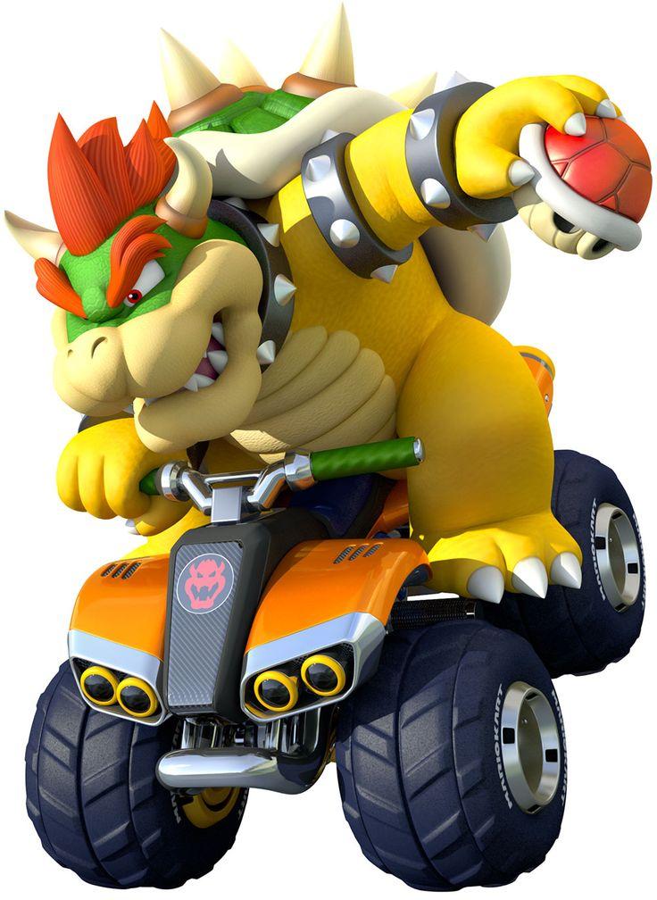 Bowser | Mario Kart 8 #Nintendo #WiiU