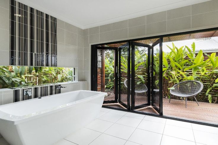 Design your next property with a resort-style feel with our unique aluminium bifold doors.