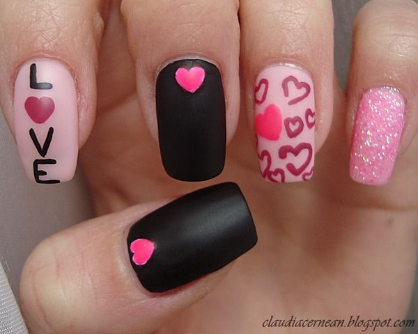 20 Valentine's Day Nail Art Ideas