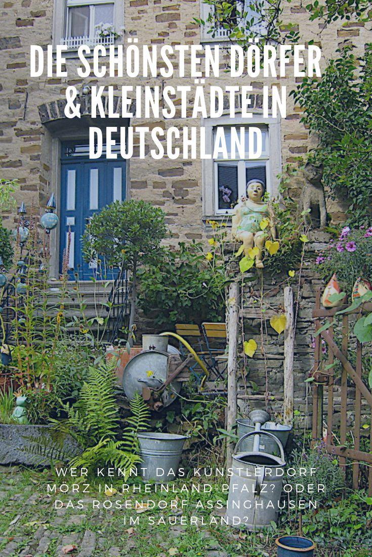 Schöne Kleinstädte und Dörfer in Deutschland