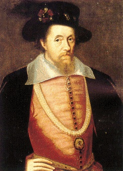 James I (1603-1625) his mother Mary Queen of Scots was beheaded by Elizabeth I. He came to the throne after Elizabeth died and started the Stuart Dynasty. Famous for nearly being blown up in The Gunpowder Plot by Guy Fawkes