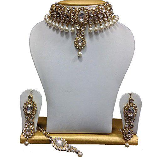 Traditional Indian Bollywood Kundan Ethnic Elegant Weddin... https://www.amazon.com/dp/B06XYGZY3X/ref=cm_sw_r_pi_dp_x_i3qjzbQ44FX4D
