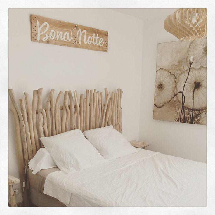 Panneau en bois avec inscription, tête de lit : Décorations murales par in-the-wood-4-love
