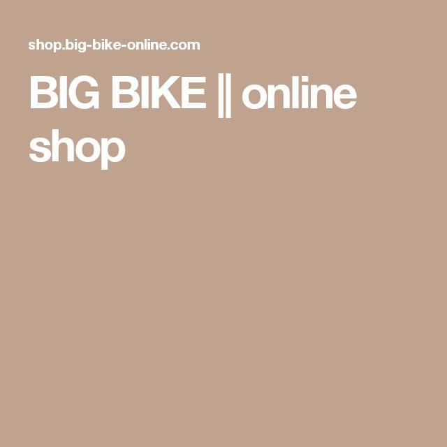 BIG BIKE || online shop