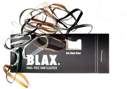 BLAX. Snag-Free Hair Elastics.