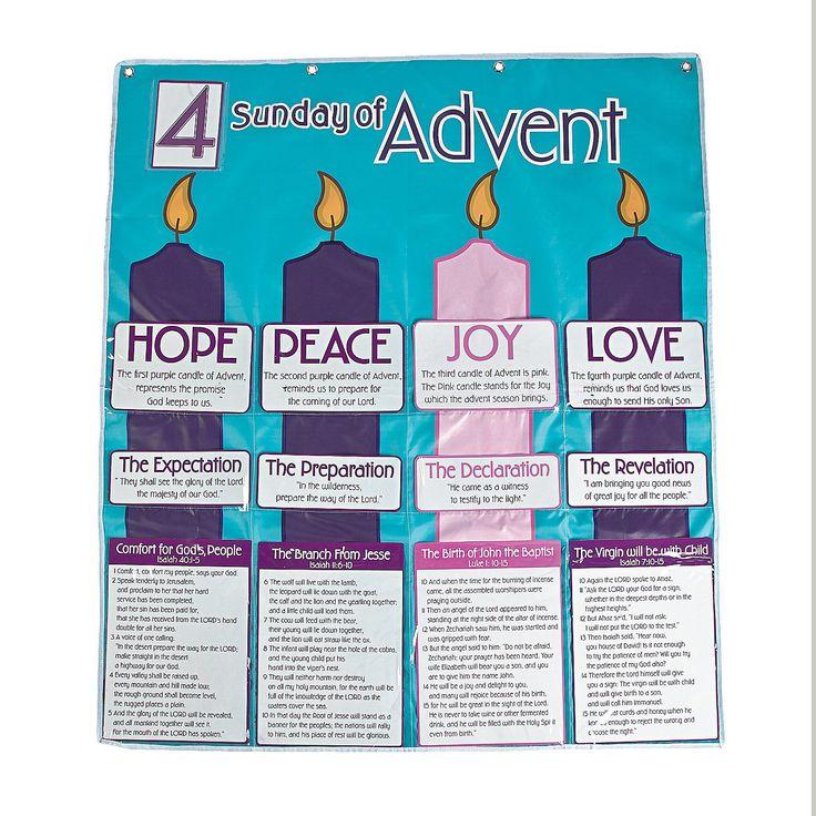 advent calendar pocket chart. Black Bedroom Furniture Sets. Home Design Ideas