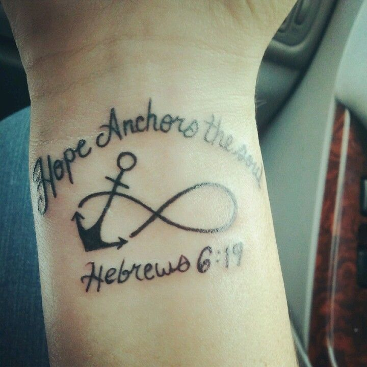 Second tattoo hope anchors the soul for Hope anchors the soul tattoo