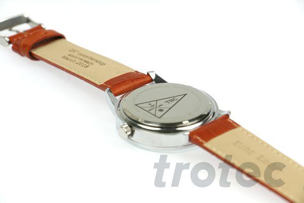 Personalisierte Uhr Uhr Lasergravur Gravur