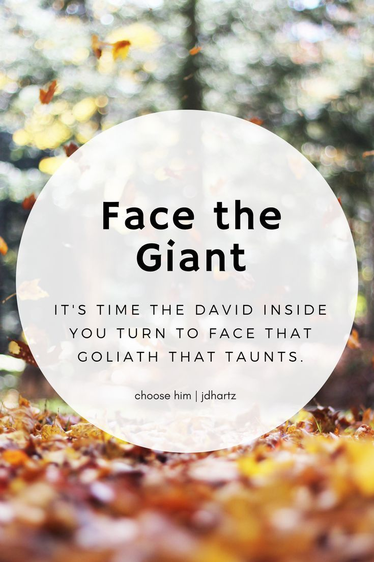 Face the Giant.