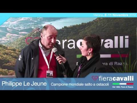 Intervista con Philippe Le Jeune, Campione del Mondo di Salto ad Ostacoli #fieracavalli
