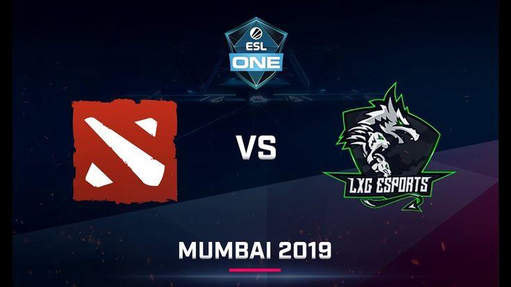 Rog Titans Vs Lxg Game 2 India Qualifier Esl One Mumbai 2019 Titans Mumbai Esl