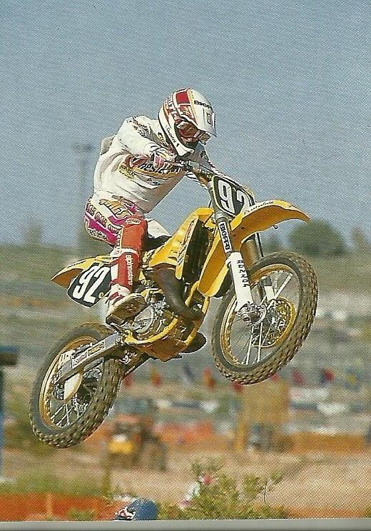 John van de Berk returned to the 125cc class in 1992 and won the GP in Hungary. The former 125 and 250 champ was not in play in the overall standings, finishing a distant 9th